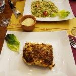 Lasagna and gnocchi