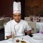 The Unique chef Rajesh Kumar Singhwith a unique agenda