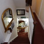 Steepish stairs to the 1st floor in this c1706 B&B