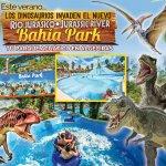 Este verano los Dinosaurios invaden el nuevo RÍO JURÁSICO en BAHÍA PARK