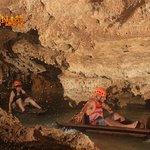 Kayaking in caves!