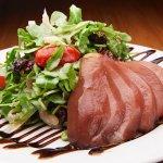 Burgundy Peached Pear Salad
