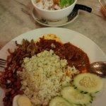 rice and chendol