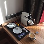 Good coffee machine in room