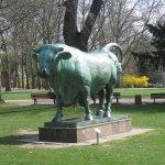Günthersburgpark - Skulptur