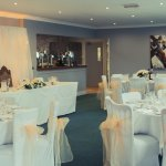 Wilford Suite set for Wedding Reception
