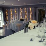 Wilford Suite set up for Wedding Reception