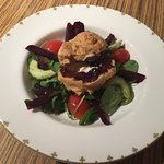 Goat's cheese salad