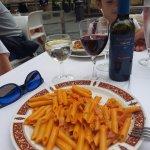 Pasta with vine )))