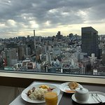 Rooftop view for breakfast