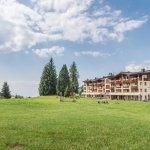Hotel Steger-Dellai in the warm summer time
