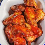 Spicy wings!