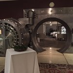 Bank Vault which is now a private dining room