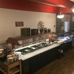 Salad bar and buffet