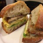 Hoboken's Best Egg Sandwich