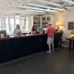 Hawkes Winery - Adam(left) did our tasting and Raymond(right in red) owner of Wine Cube Tours