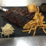 We're all about tasty ribs, smoked in-house then grilled to perfection!