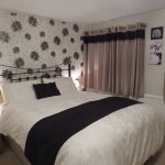 Room 1 - a king sized bed and en-suite power shower