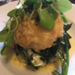 vegetarian beautifully plated bubble and squeak