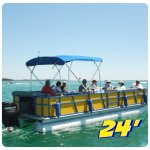 Choose from 20' 22' 24' pontoons