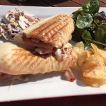 Such a tasty panini, loads of fillings!