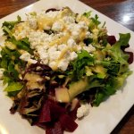 """The """"small"""" beet salad with goat cheese"""