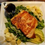 """The """"small"""" grilled salmon"""