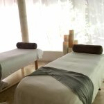 Massage room at the spa