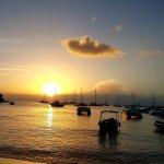 Puesta de sol desdeel Barco Bar