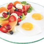 Two Eggs Fruit