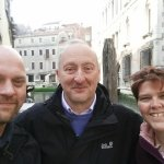 Myself, Marco and my wife at our hotel near Rialto Bridge following our sunrise photo walk