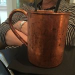 Recommend the Moscow mule!!!