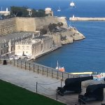 Custom House Quay from the Saluting Battery