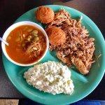 BBQ Pork Platter