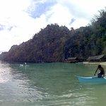 Atwayan Beach and nobody around
