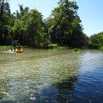Easy paddling