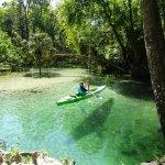Sensational green waters of Emerald Cut