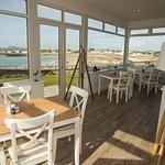 Our breakfast room overlooking main bay