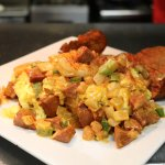 Creole Shrimp and Eggs