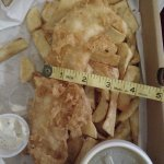 Large cod? I don't think so!