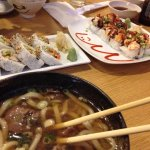 Udon, lobster roll & more rolls