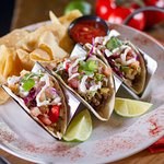 Chipotle Lime Chicken Tacos