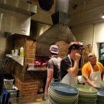 Open Pizza kitchen