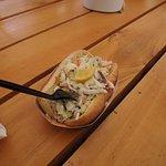 Alaskan crab roll. Delicious!