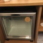 Pointless EMPTY mini bar (fridge)