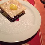Blueberry lemon mille feuilles