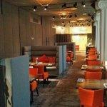 Executive lounge breakfast area