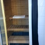 In-room sauna