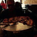 """16"""" mushroom & roasted cauliflower pizza"""