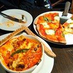 Fire Roasted Manicotti& Margherita Pizza